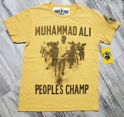 de10d6b2 Roots Of Fight Muhammad Ali Rumble In The Jungle Zaire 74 T-Shirt size Small