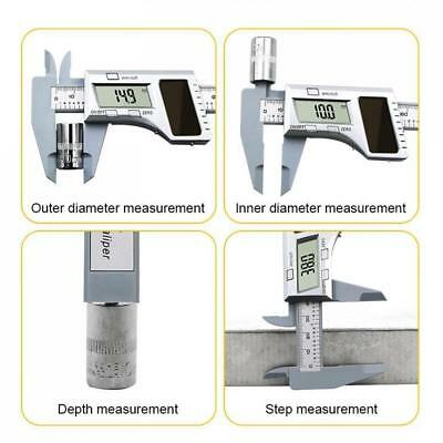 150MM LCD Digital Panel Electronic Vernier Caliper Gauge Micrometer Ruler Tool
