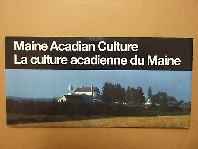 MAINE ACADIAN CULTURE NATIONAL PARK Unigrid special Brochure FRENCH Catholic