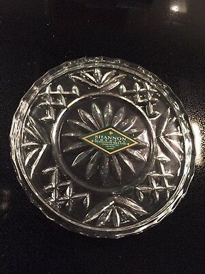 Shannon Crystal by Godinger Set of Four Coasters - New