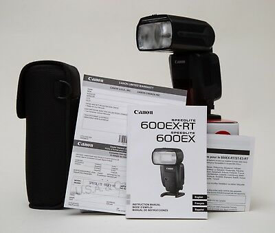 Canon Speedlite 600EX-RT Shoe Mount Flash for  Canon Excellent  $1 start no res