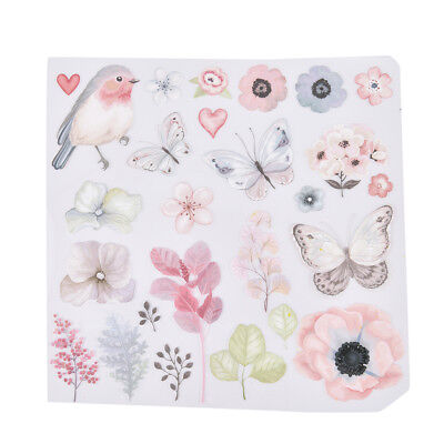 1pc flower bird patches for clothes iron-on transfers easy print diy appliquesLJ