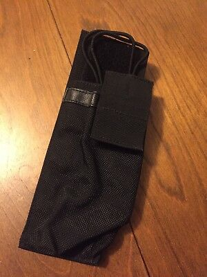 Blackhawk Black Nylon Duty Radio Pouch Multi Fit Police Security Free Shipping