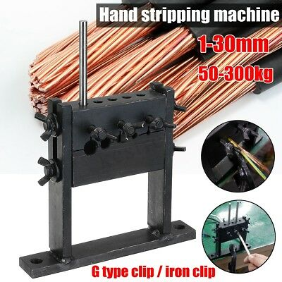 Hand Tool Manual Scrap Cable Wire Stripping Peeling Machine Stripper for  new