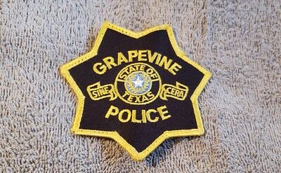 Grapevine Texas Police Shoulder Patch
