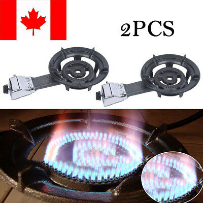 2X Portable Single Propane Gas Burner Outdoor Stove Camping Tailgating Home Use