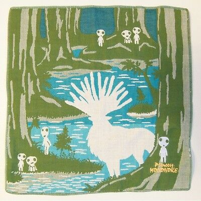 Princess Mononoke gauze handkerchief Kodama Forest Spirit Studio Ghibli Japan