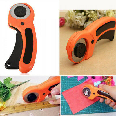 Patchwork Leather Rotary Cutter Fabric Knife Circular Cutting Blade