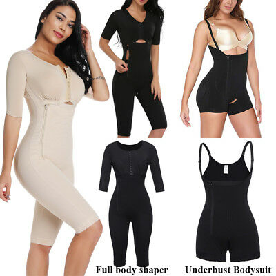 Fajas Colombianas Reductora Body Suit Shaper Post Surgery Seamless Waist Trainer