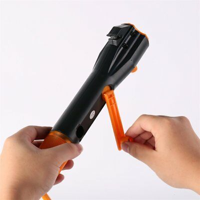 Portable Rechargeable Multi-functional Emergency Flashlight Auto Safety Tool*