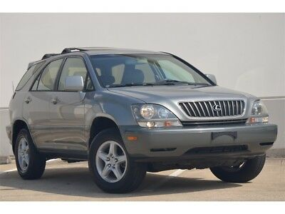 2000 Rx 300 2000 Lexus Rx 300 Awd Lthr S/roof Nakamichi Sound Low Miles Clean