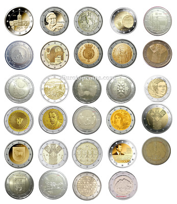 #Rm# All 2 Euro Commemorative From 2018 Unc - 29 Coins