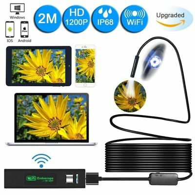 1200P WiFi Endoskop Wasserdicht USB Endoscope Inspektion Kamera für IOS Android