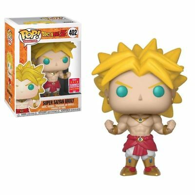 Funko Pop Dragonball Z Super Saiyan Broly 2018 SDCC #402 Vinyl Figure New In Box