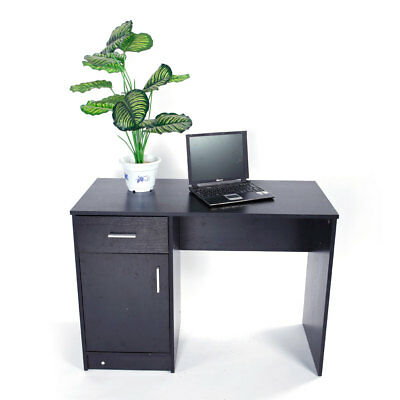 Practical Computer Desk Home Office Study Laptop PC Table Drawer Shelves