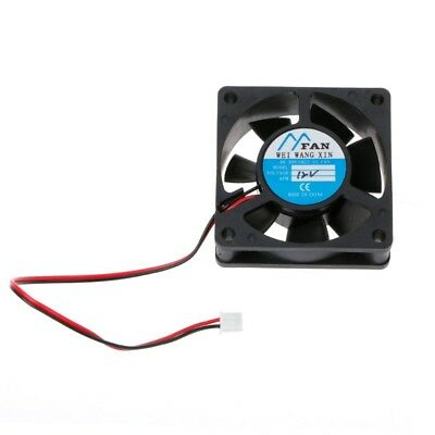 New DC 5/12/24V 2-Pin Cooler Brushless Axial PC CPU Case Cooling Fan