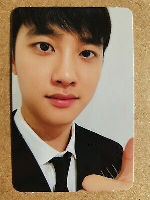 EXO DIO D.O. #2 Authentic Official PHOTOCARD [LOVE SHOT] 5th Album Repack 디오