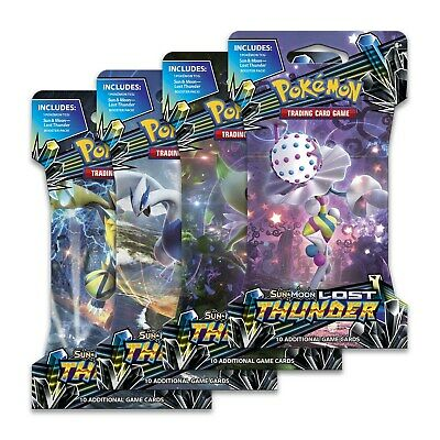 Pokemon Lost Thunder Booster ⚡️ TCG Sun and Moon