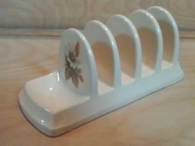 DAWLISH Pottery TOAST RACK Flowers & Wheat Design