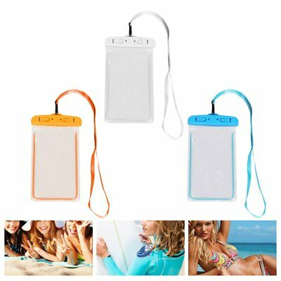 Outdoor Waterproof Phone Bag Phone Case With Neck Strap For Swimming Surfing C2