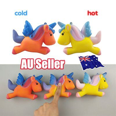 Temperature Colour Change Slow Rising Scented Squeeze Toy Stress Reliever BO