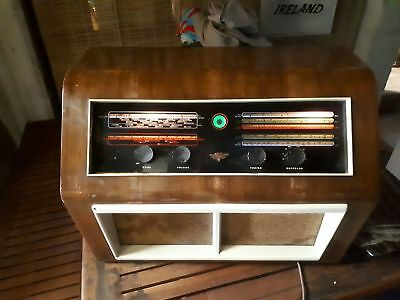 Antique KB Kolster Brandes Ltd radio and shortwave radio 1947 (working) BR40