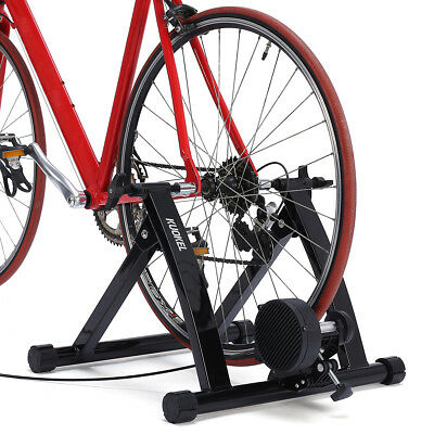 Folding Portable Indoor Exercise Magnetic Resistance Bicycle Trainer Bike Stand