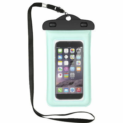 5.5-inch Universal Waterproof PVC Mobile Phone Bag With Transparent Part HZ