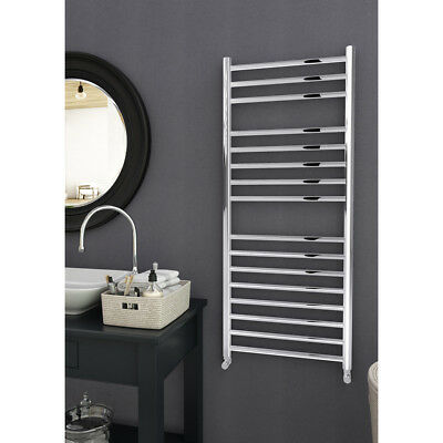 Stainless Steel Ladder Heated Towel Rail Radiator Designer Bathroom Straight