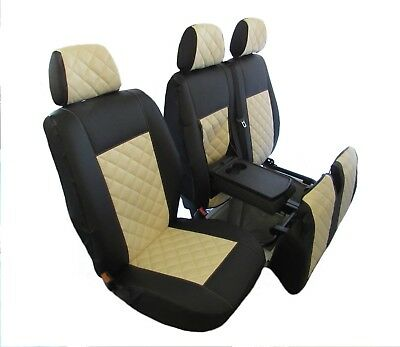 PEUGEOT BOXER,CITROEN RELAY,FIAT DUCATO 2006-2018 RHD ECO LEATHER Seat Covers