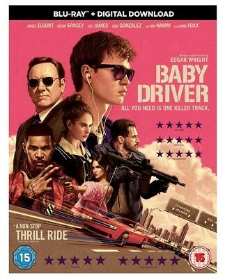 Baby Driver (with Digital Copy) [Blu-ray] MINT Condition