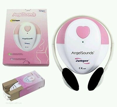 Fetal Doppler Heart Beat Monitor Angel Sounds Angelsounds Jumper Gel Cd Jpd-100S