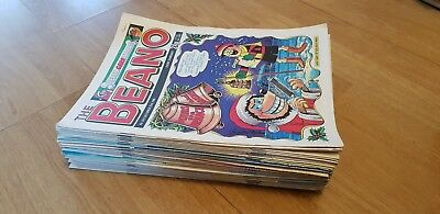 The Beano Comic - over 40 comics, 1989, Dennis the Menace, job lot, bundle