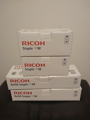 2 Ricoh Refill Staple Type M EPD CODE 413026 and 2 Staple Type M EPD CODE 413013