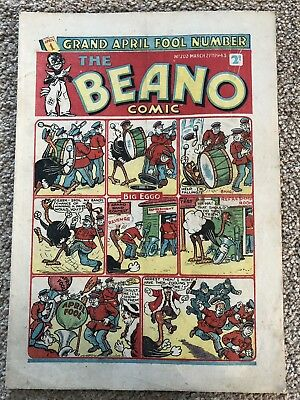 The Beano 1943 No 202 War Time Comic