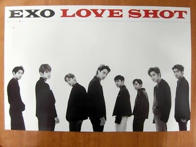 EXO - Love Shot (Love Ver. A) [OFFICIAL] POSTER *NEW* K-POP