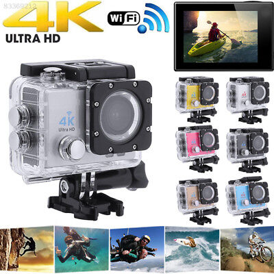 BCC5 2.0'' LCD 720P Sports GSS Action Camera 4K DVR Cam Sport Camera Portable
