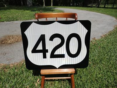 Route 420 New Reflective Road Sign Great for Bar Man Cave Restaurant etc RT 420