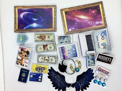 Littlest Pet Shop  GALAXY Wings & Accessories LPS PET NOT INCLUDED, Nice