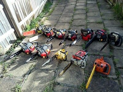used chainsaws petrol various makes