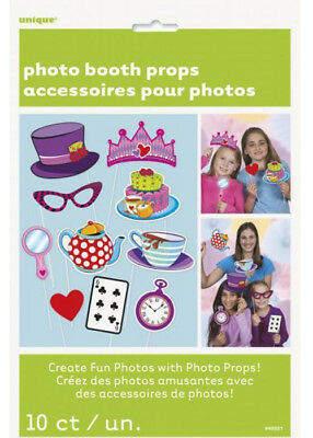 Mad Hatters Tea Party Photo Booth Props