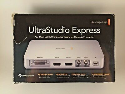 Blackmagic Design Ultrastudio Express SDI and HDMI in and out!