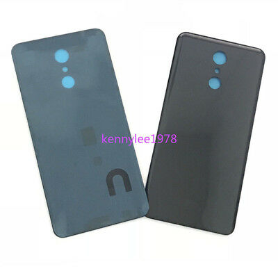 Battery Back Cover Door Housing Replacement For LG Q Stylus Stylo 4 Q710 Black