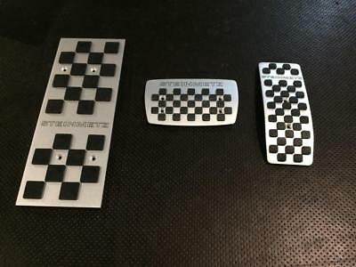 """Pedals Opel Steinmetz """"chess"""" steel pedals  automat transmission"""