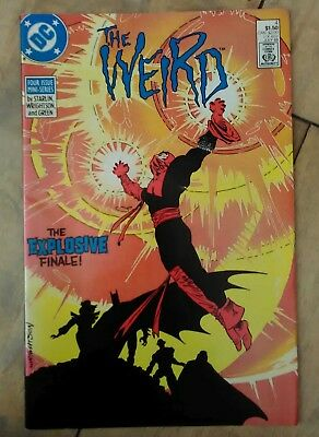 The Weird #4 1988 VF+ DC New Earth Comics Justice League Superman - 50+ FREE