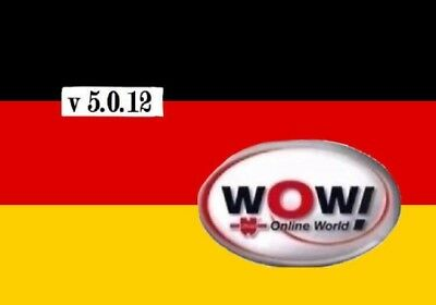 Diagnose Software WoW Würth2018  5.00.12+key+alle lizenzen.bj2018autos/DL