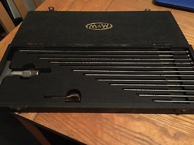 Moore and Wright 0mm-12mm Internal Depth Micrometer