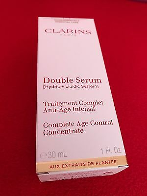 Clarins Double Serum Traitement Complet Anti-Âge 30 Ml