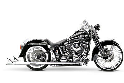 """Samson Motorcycle Exhaust True Dual Exhaust S2-472 39"""" Cholo 07-11 softail Model"""