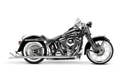 """Samson Motorcycle Exhaust True Dual Exhaust S2-471 36"""" Cholo 07-11 Softail Model"""